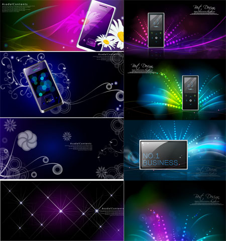 Mobile Devices - Stock Vectors