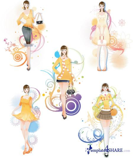 Fashion Vector Girls 20