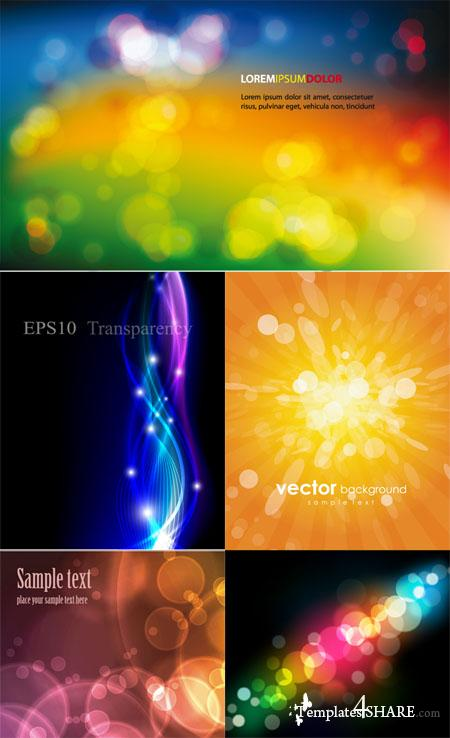 Colorful Abstract Vector Backgrounds 28