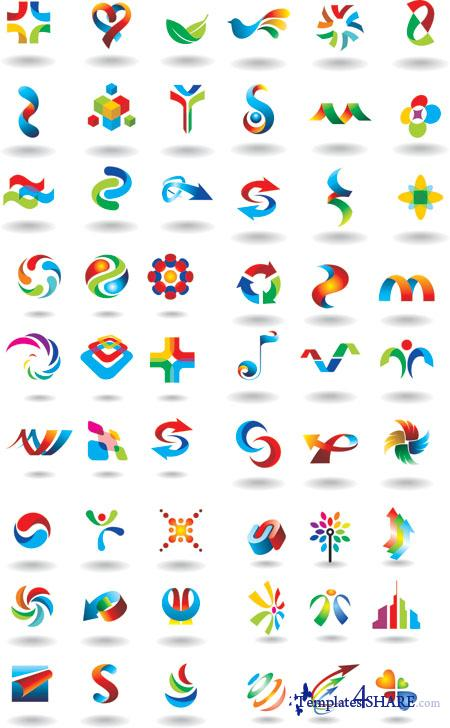 Colorful Vector Icons 6