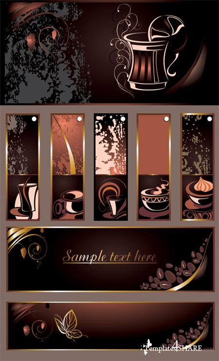 Set of Coffee and Tea Vectors