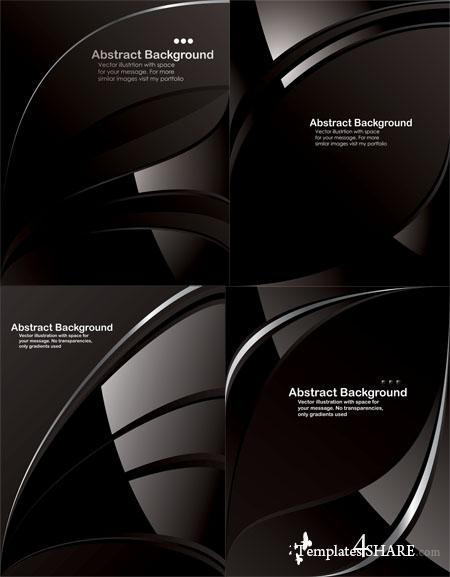 Black Vector Backgrounds 3