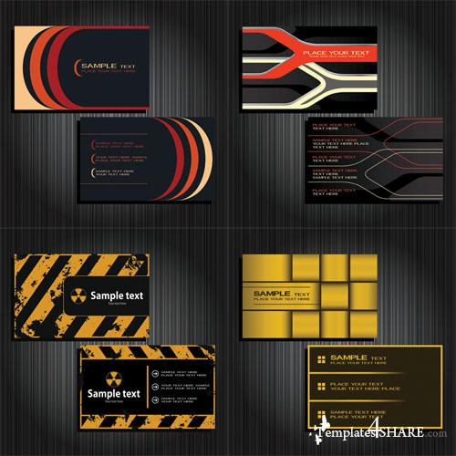 Business Cards Vector Templates