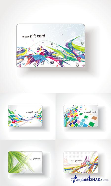 Colorfull Vector Cards