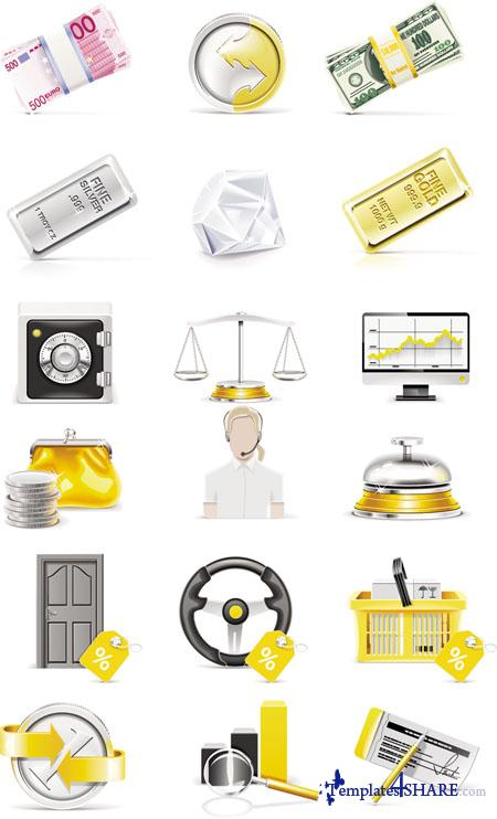 Banking Vector Icons