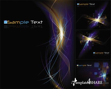 Colorful Abstract Vector Backgrounds 31