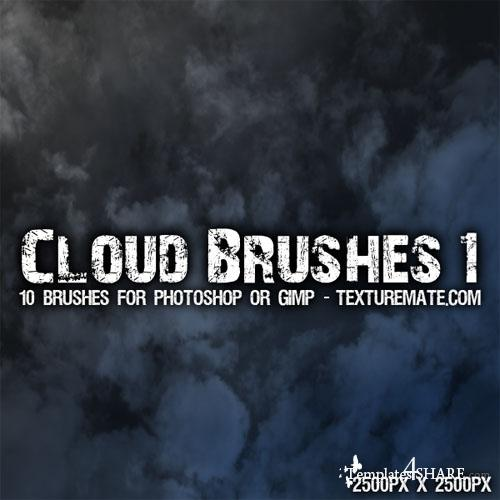 Clouds 1 - Photoshop Brush Pack
