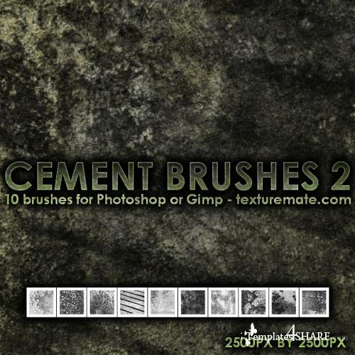 Cement 2 - Photoshop Brush Pack