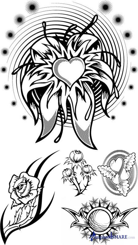 Vector Tattoos for Girls