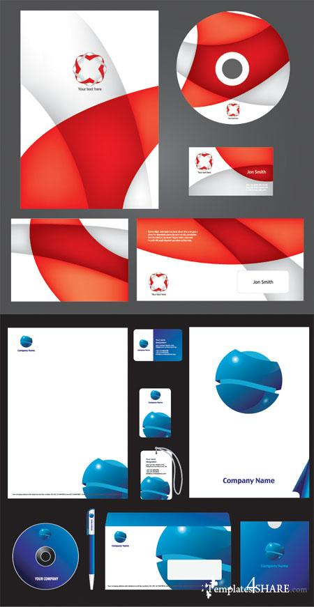 Corporate ID Vector Templates 5