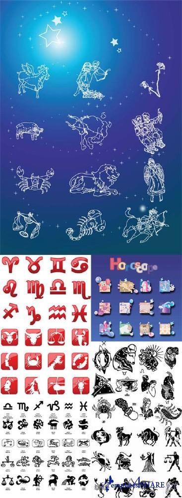 Horoscope Vector Collection