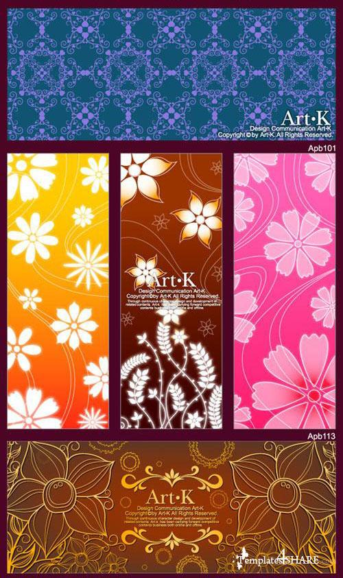 Flower Vector Patterns