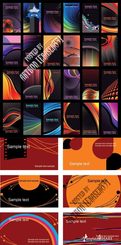Business Cards Vector Design