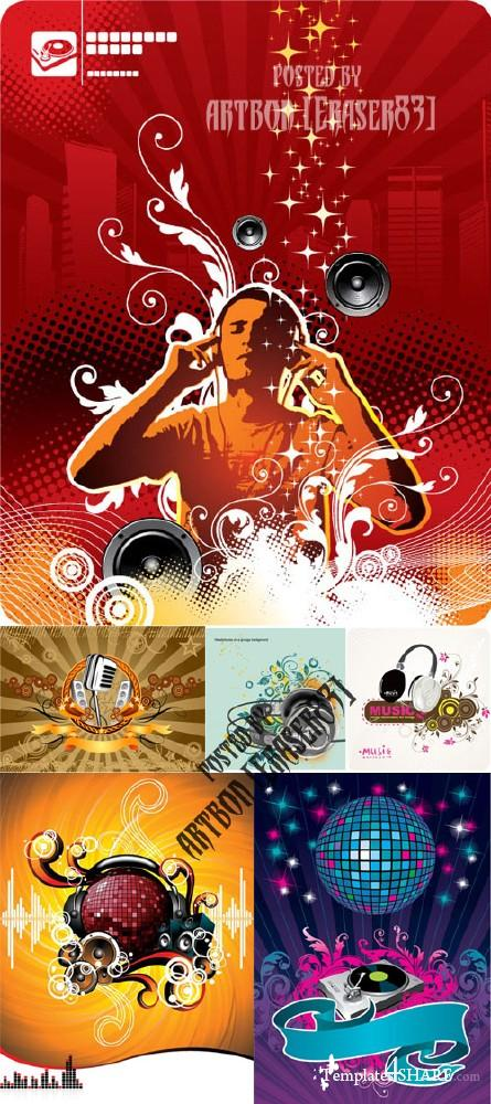 Dance and Music Vector Collection