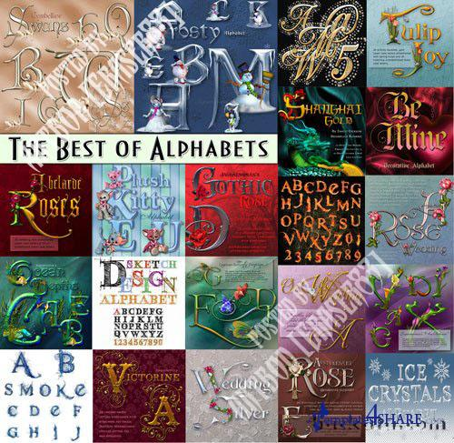 The Best Collection of Alphabets