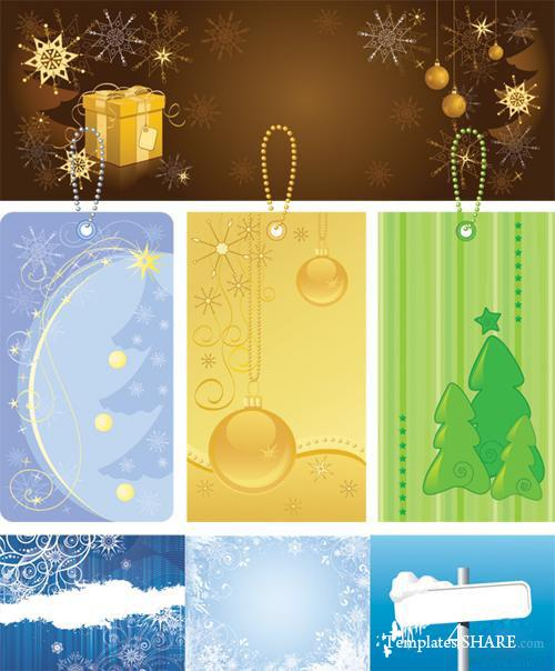 Christmas Vector Mix #091110