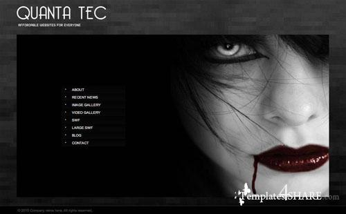 Quanta Tec XML Website Template
