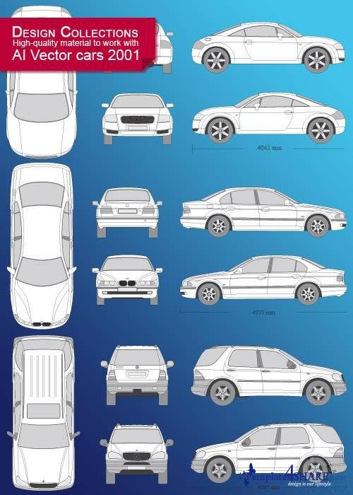 Vector Cars Design Collection