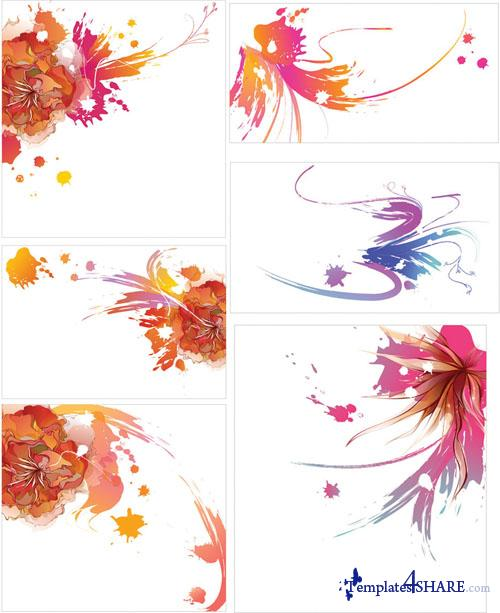 Stains and Blots Vectors 2