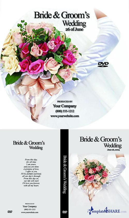 Wedding DVD Box Set - PSD Template