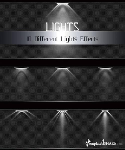 Light Effects - PSD Templates