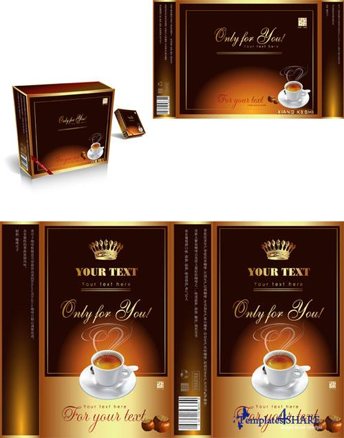 Coffee Package Vector