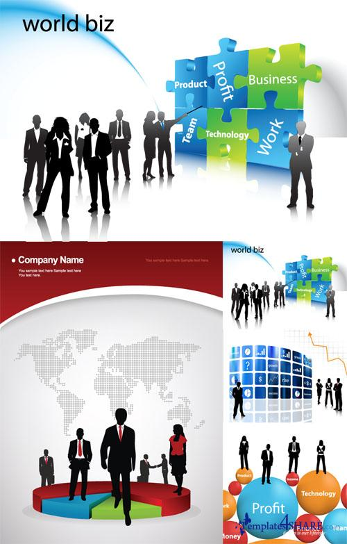 Business Vector Set
