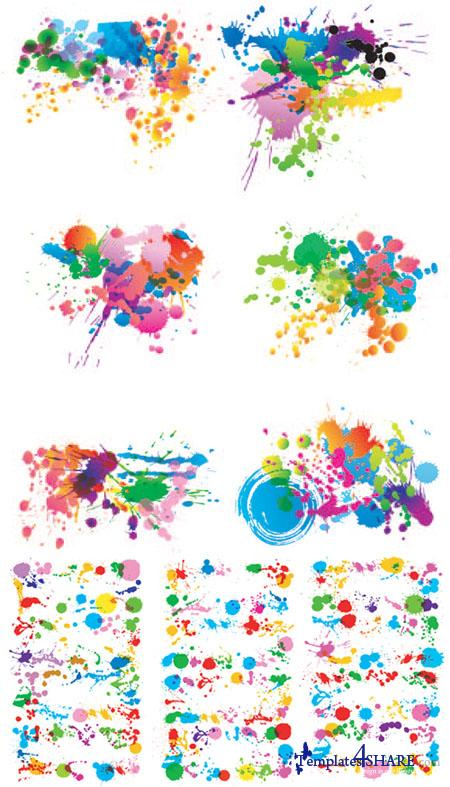 Blot Vector Collection