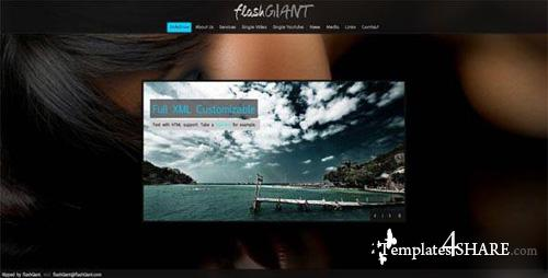 Danpq XML - Flash Template