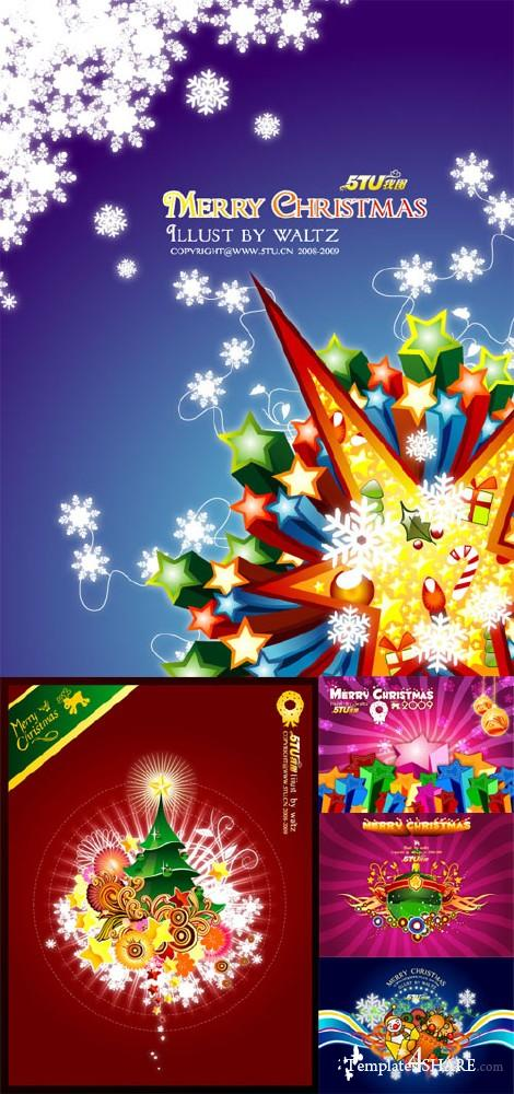 Christmas Vector Mix #161110