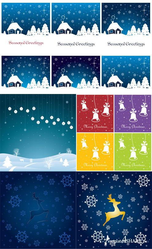 Christmas Vector Background 7