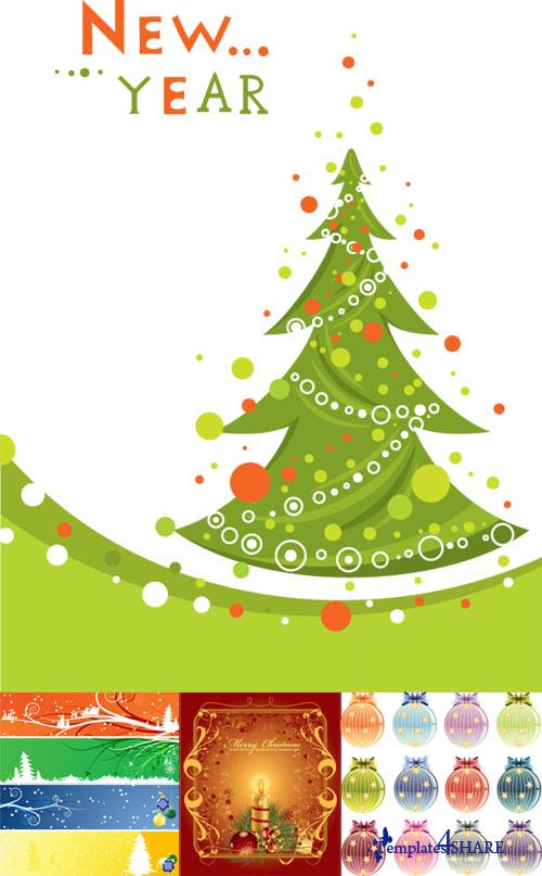 Christmas Vector Mix #111110