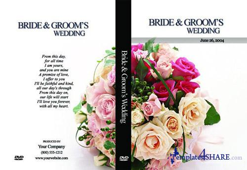 Wedding DVD Box Set 2 - PSD Template