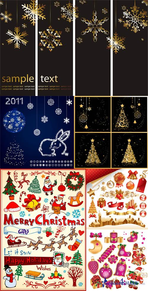 Christmas Vector Elements 4