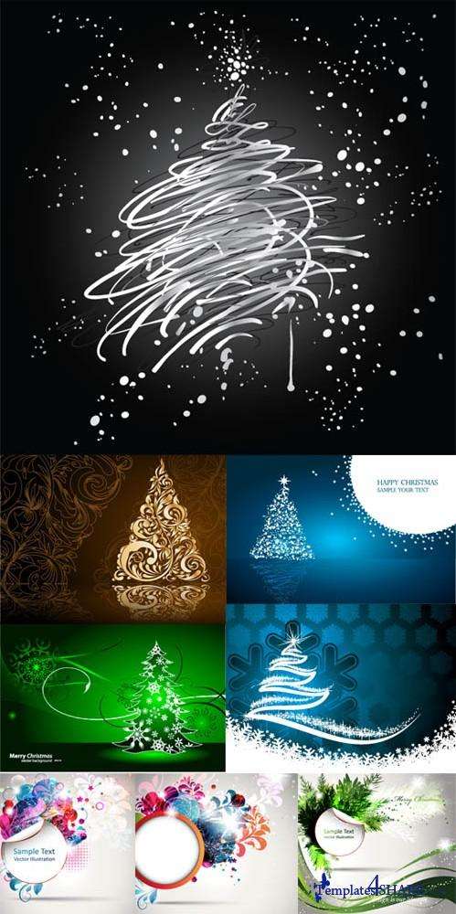 Christmas Vector Megapack 12