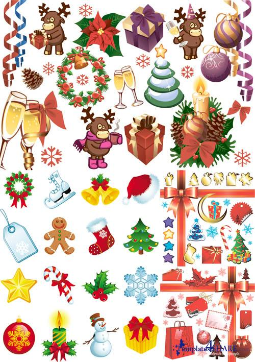 Christmas Vector Elements 3