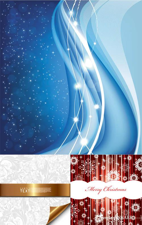 Christmas Vector Backgrounds 11