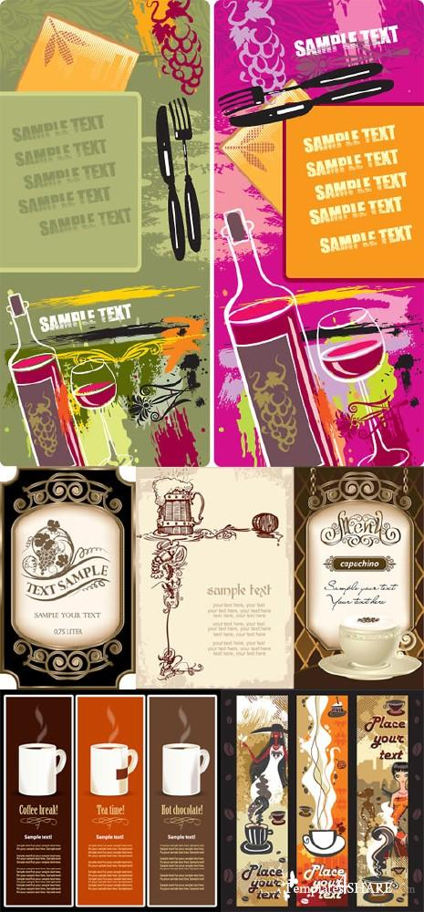 Vector Menus Huge Pack 3