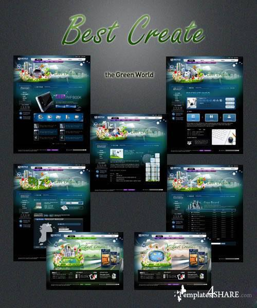 Best Create - PSD Templates