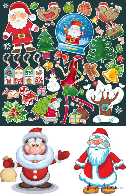 Santa Claus - Vector Clipart