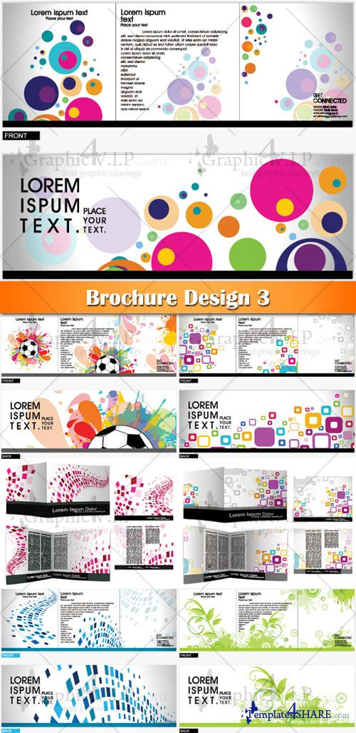 Brochure Design 3 - Stock Vectors