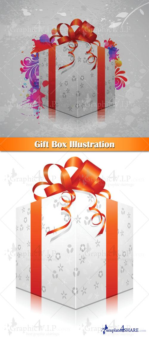 Gift Box Illustration - Stock Vectors