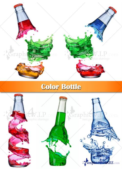 Color Bottle - Stock Photos