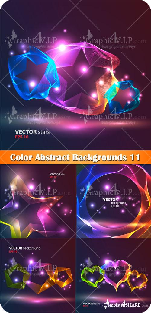 Color Abstract Backgrounds 12 - Stock Vectors