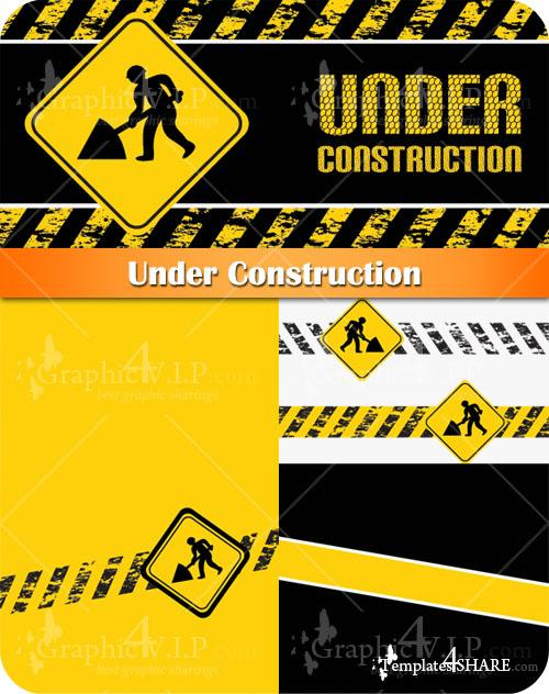 Under Construction - Stock Vectors