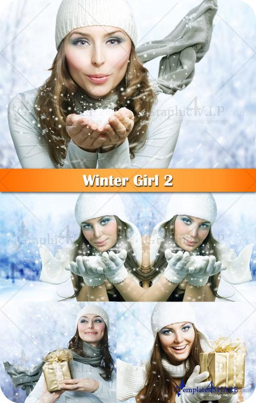 Winter Girl 2 - Stock Photos
