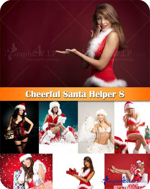 Cheerful Santa Helper 8 - Stock Photos