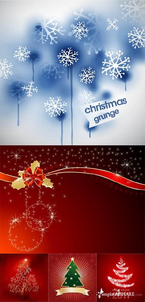 Christmas Vector Backgrounds 18