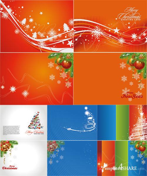 Christmas Cards - PSD Templates