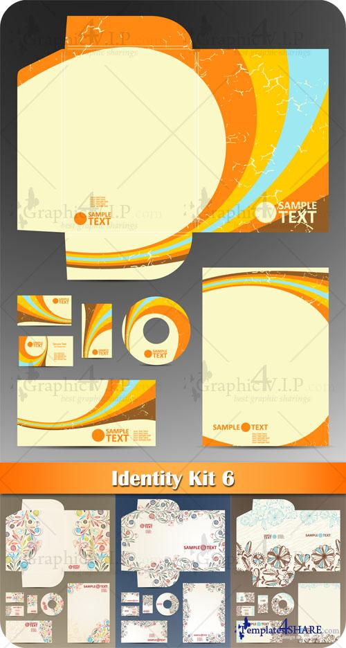 Identity Kit 6 - Stock Vectors